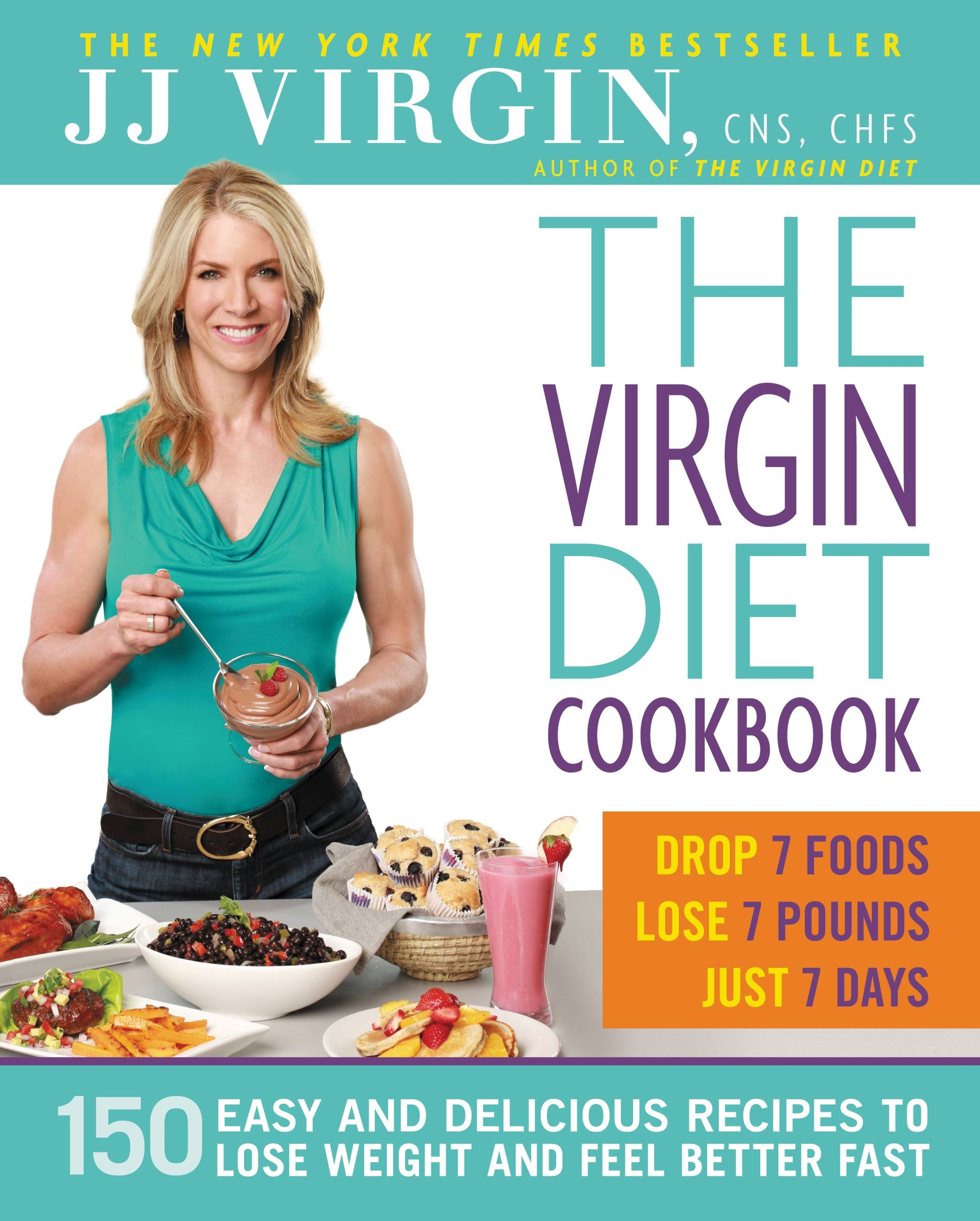 "كتاب ""The Virgin Diet"""